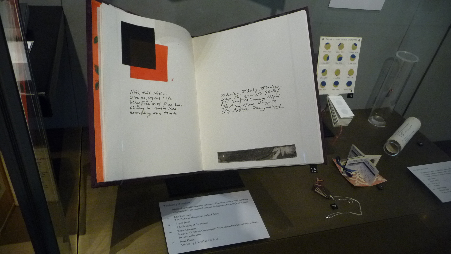 Layout Artbook Krikor Momdjian in the Bodleian Oxford University